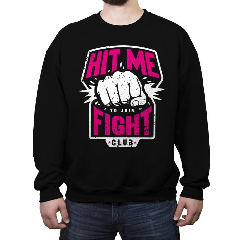 Fight Club Entrance - Crew Neck Sweatshirt - Crew Neck Sweatshirt - RIPT Apparel