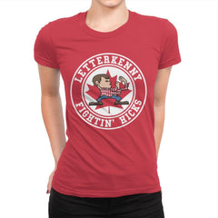 Fightin' Hicks - Womens Premium - T-Shirts - RIPT Apparel