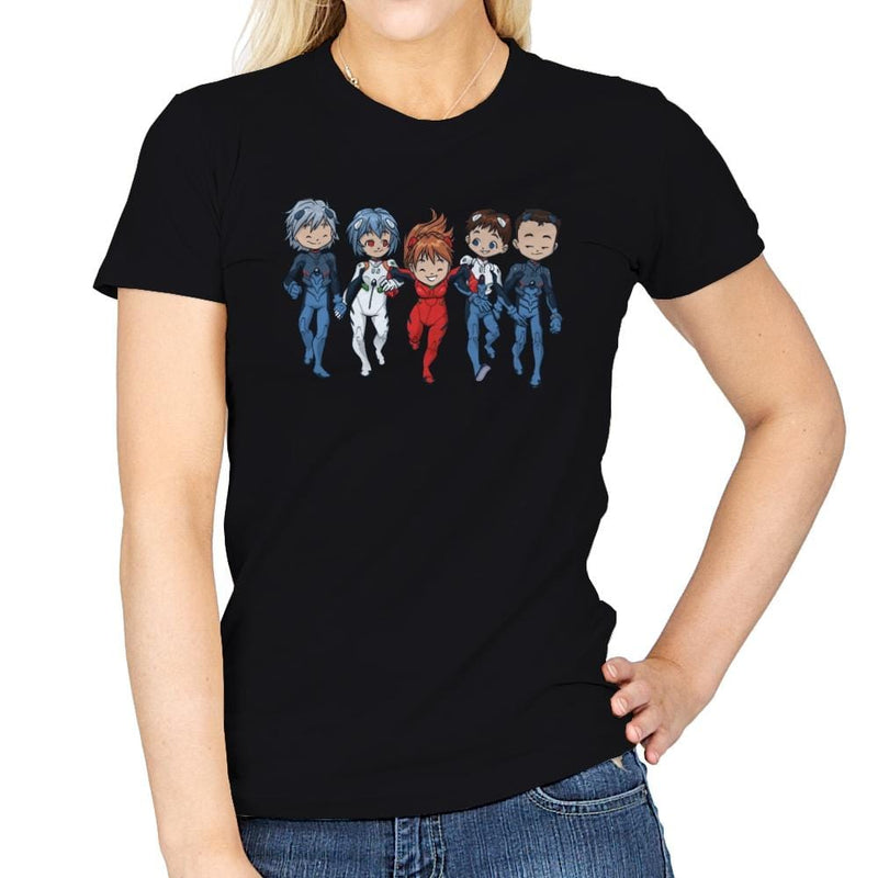 Pilot Friends - Miniature Mayhem - Womens - T-Shirts - RIPT Apparel
