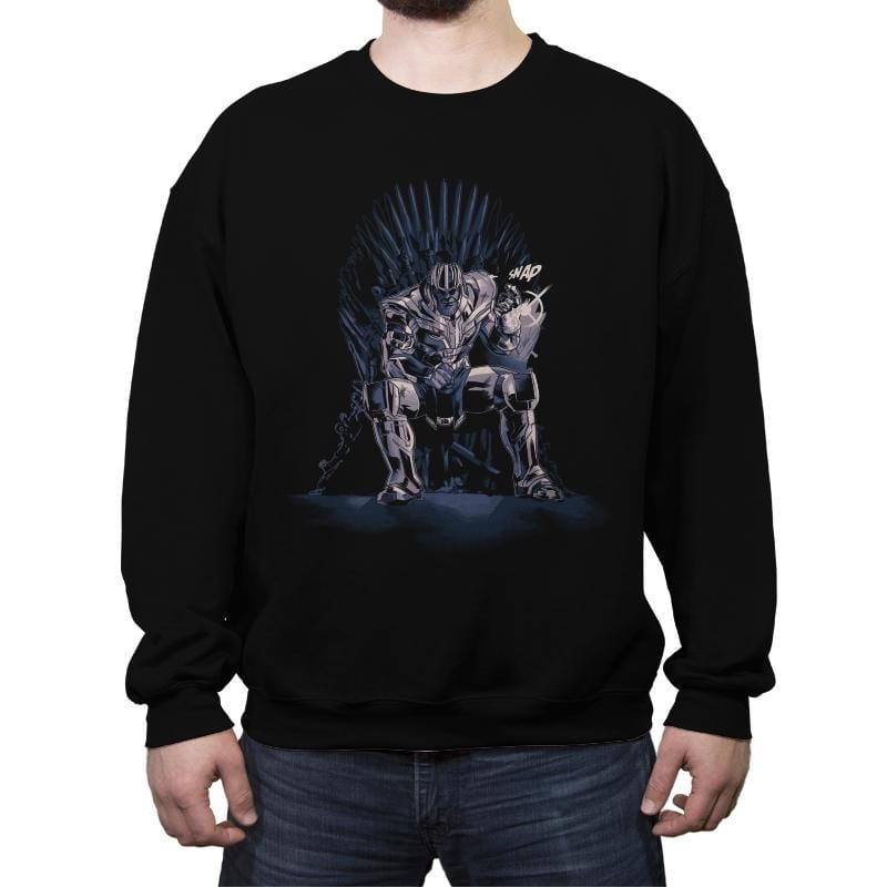 King of the Universe - Anytime - Crew Neck Sweatshirt - Crew Neck Sweatshirt - RIPT Apparel