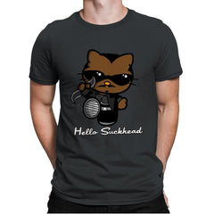 Hello Suckhead - Mens Premium - T-Shirts - RIPT Apparel