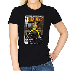 Black Mamba - Womens - T-Shirts - RIPT Apparel