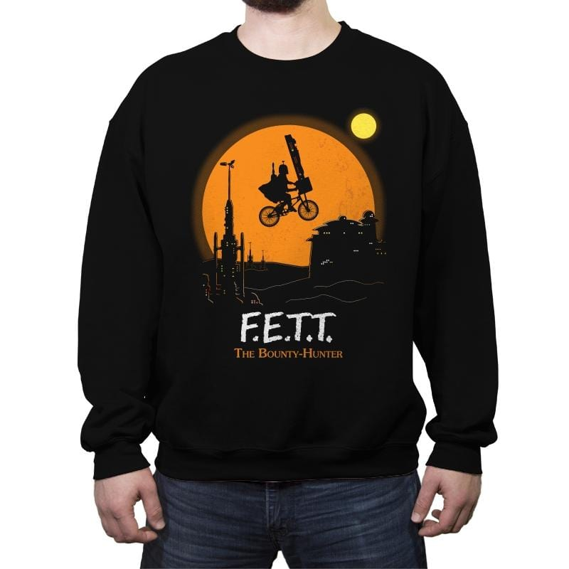 F.E.T.T. The Bounty-Hunter - Crew Neck Sweatshirt - Crew Neck Sweatshirt - RIPT Apparel