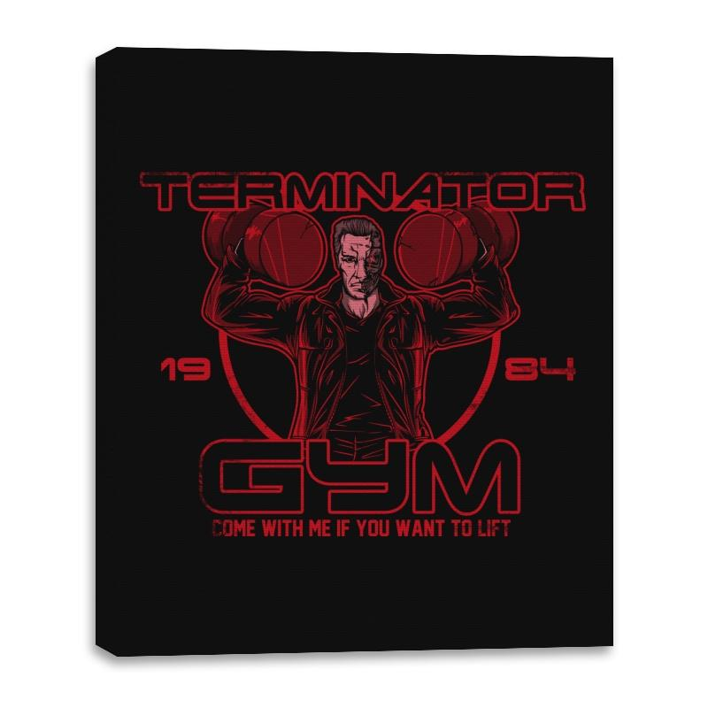 Terminator Gym - Canvas Wraps - Canvas Wraps - RIPT Apparel