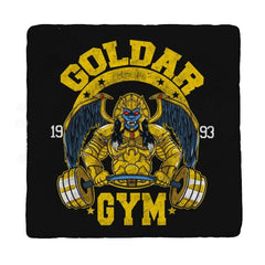 Goldar Gym - Coasters - Coasters - RIPT Apparel