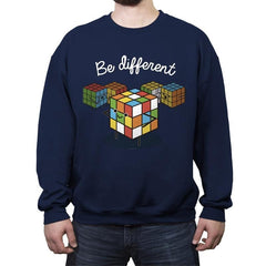 Be different - Crew Neck Sweatshirt - Crew Neck Sweatshirt - RIPT Apparel