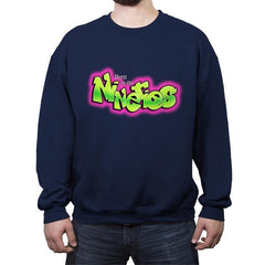 Born In The Nineties - Crew Neck Sweatshirt - Crew Neck Sweatshirt - RIPT Apparel
