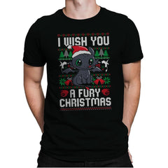 Fury Christmas - Mens Premium - T-Shirts - RIPT Apparel