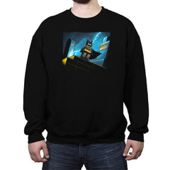 Minibat: The Animated Series - Crew Neck Sweatshirt - Crew Neck Sweatshirt - RIPT Apparel