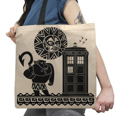 Maui Meets The Doctor Exclusive - Tote Bag - Tote Bag - RIPT Apparel
