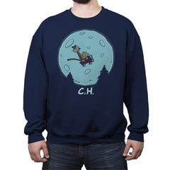 Flying Wagon! - Crew Neck Sweatshirt - Crew Neck Sweatshirt - RIPT Apparel