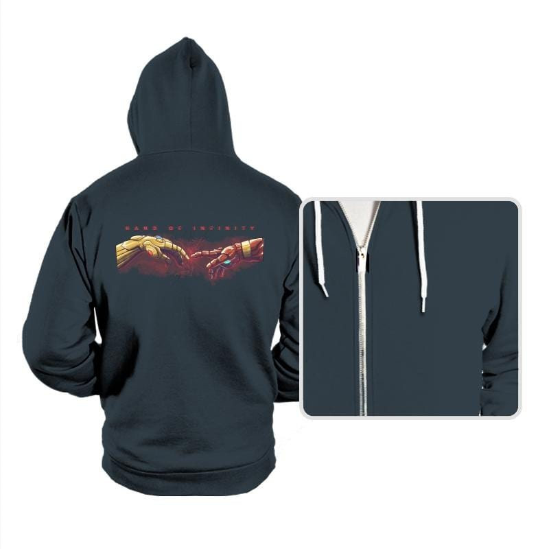 HAND OF INFINITY - Hoodies - Hoodies - RIPT Apparel