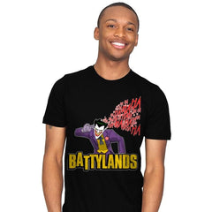 Battylands - Mens - T-Shirts - RIPT Apparel