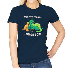 Tomorrow is a New Day - Womens - T-Shirts - RIPT Apparel