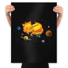 The Center of My Universe - Prints - Posters - RIPT Apparel