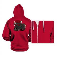 Santa vs Krampus - Hoodies - Hoodies - RIPT Apparel