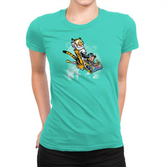 Jasmine and Rajah Exclusive - Womens Premium - T-Shirts - RIPT Apparel