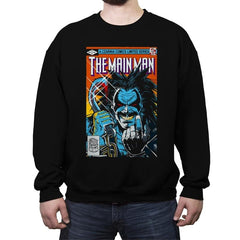 Tha Main Man #1 - Crew Neck Sweatshirt - Crew Neck Sweatshirt - RIPT Apparel