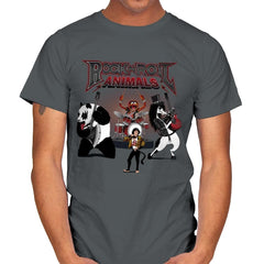 Rock & Roll Animals - Mens - T-Shirts - RIPT Apparel