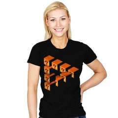 Impossible Blocks - Womens - T-Shirts - RIPT Apparel