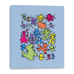 Toy Art - Canvas Wraps - Canvas Wraps - RIPT Apparel