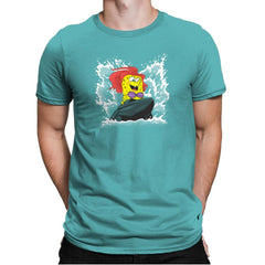 Sponge Dude Mermaid Pants Exclusive - Mens Premium - T-Shirts - RIPT Apparel