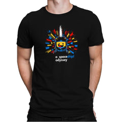 A Spaceship Odyssey Exclusive - Mens Premium - T-Shirts - RIPT Apparel