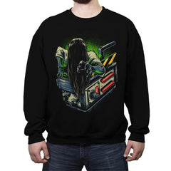 Trapped Ghost - Crew Neck Sweatshirt - Crew Neck Sweatshirt - RIPT Apparel