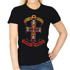 Appetite for Tesseract - Womens - T-Shirts - RIPT Apparel