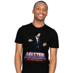 Master Of The Pencil - Mens - T-Shirts - RIPT Apparel