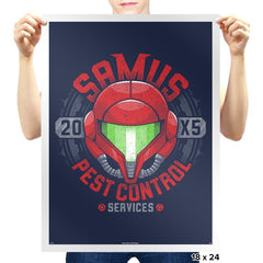 Pest Control Services - Prints - Posters - RIPT Apparel