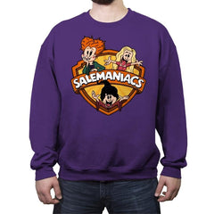 Salemaniacs! - Crew Neck Sweatshirt - Crew Neck Sweatshirt - RIPT Apparel