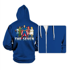 Cartoon Seven - Hoodies - Hoodies - RIPT Apparel