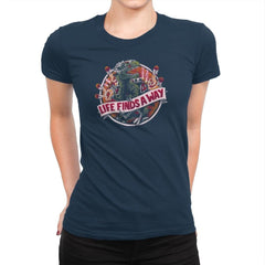 Life Finds A Way Exclusive - Womens Premium - T-Shirts - RIPT Apparel