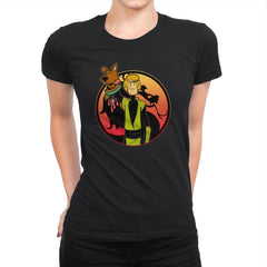Mortal Shaggy - Womens Premium - T-Shirts - RIPT Apparel
