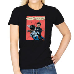 Get in the Robot Exclusive - Anime History Lesson - Womens - T-Shirts - RIPT Apparel