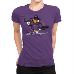 Vault Duck - Womens Premium - T-Shirts - RIPT Apparel