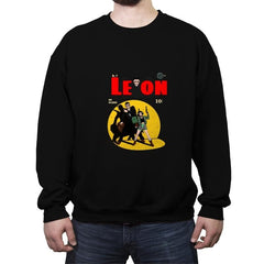 Leon nº9 - Crew Neck Sweatshirt - Crew Neck Sweatshirt - RIPT Apparel