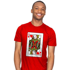 Queen Card - Mens - T-Shirts - RIPT Apparel