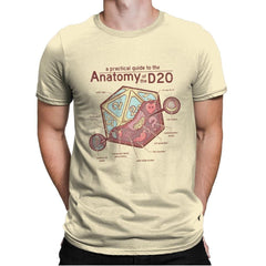 Anatomy of the D20 - Mens Premium - T-Shirts - RIPT Apparel
