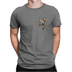 Pocket Raider Exclusive - Mens Premium - T-Shirts - RIPT Apparel