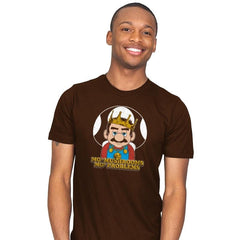 Mo' Mushrooms Mo' Problems - Mens - T-Shirts - RIPT Apparel