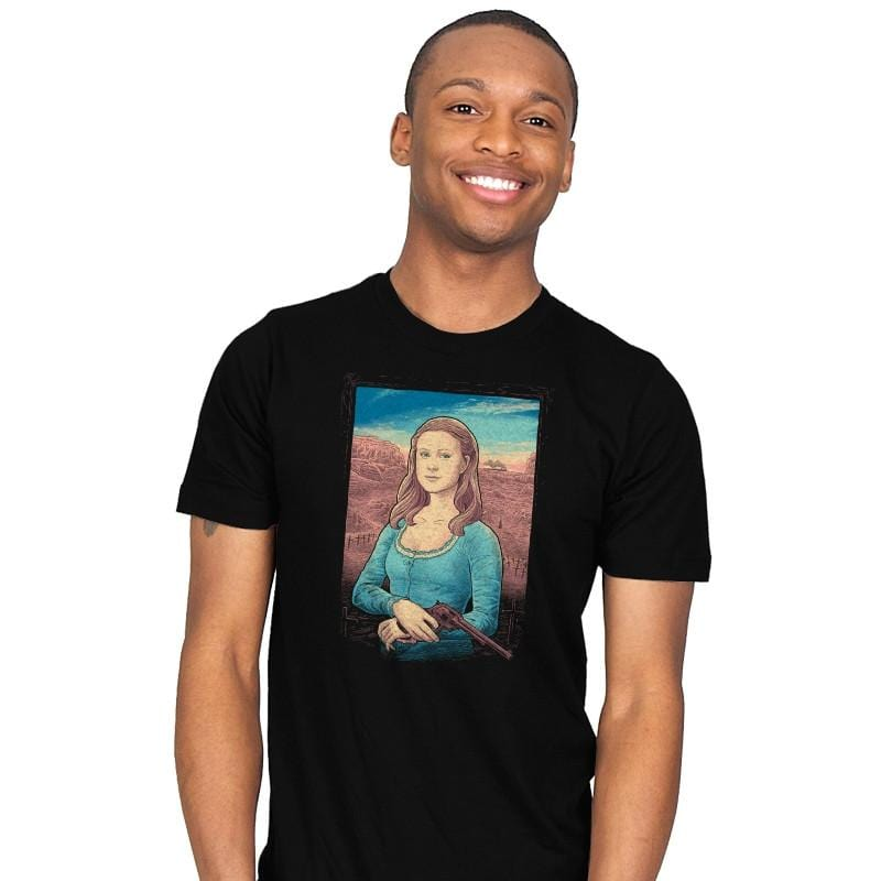 The Mystery of Dolores' Smile - Mens - T-Shirts - RIPT Apparel