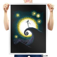 Starry Nightmare - Prints - Posters - RIPT Apparel