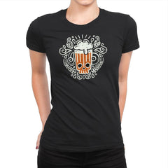 Yummy Hops - Womens Premium - T-Shirts - RIPT Apparel
