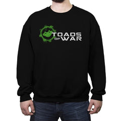 Toads of War - Crew Neck Sweatshirt - Crew Neck Sweatshirt - RIPT Apparel