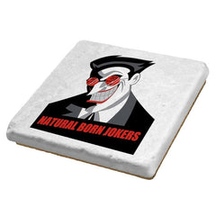 Natural Born Jokers - Coasters - Coasters - RIPT Apparel