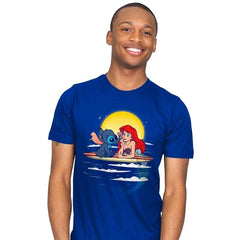 Aloha Mermaid - Best Seller - Mens - T-Shirts - RIPT Apparel
