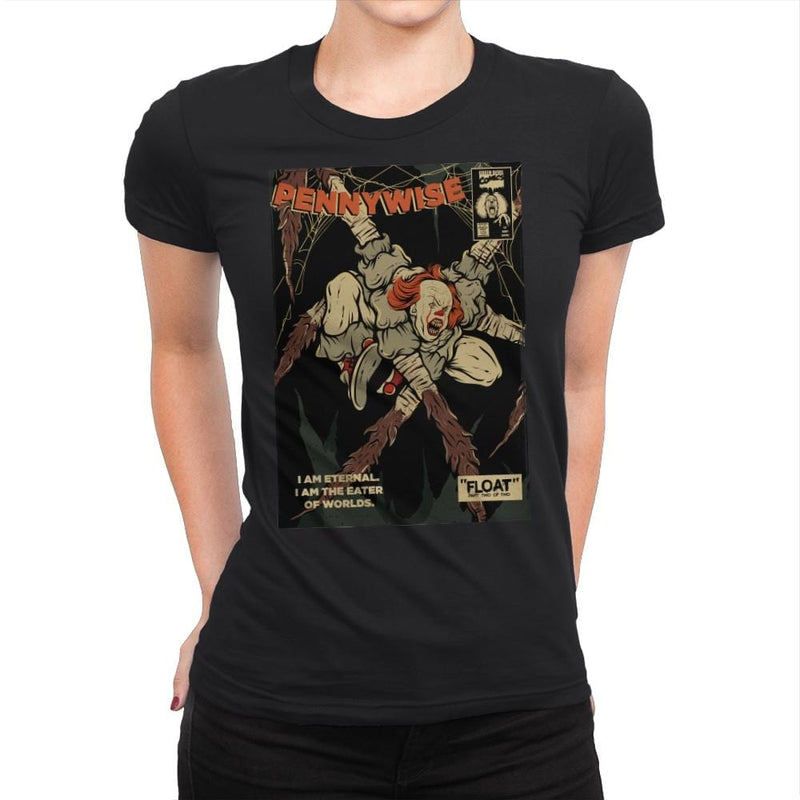 Eater of Worlds - Womens Premium - T-Shirts - RIPT Apparel