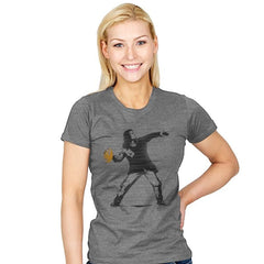 Go Long Mark! - Womens - T-Shirts - RIPT Apparel